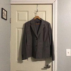 Ann Taylor blazer suit jacket 16